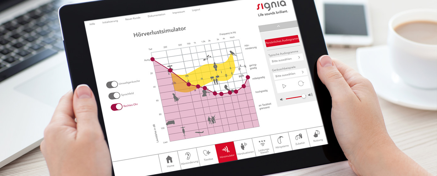 Signia Counseling Suite Mobile App Entwicklung